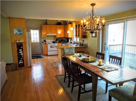 Brewster Cape Cod vacation rental - Open Kktchen/dining area