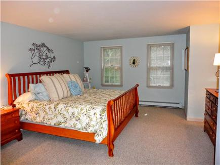 Brewster Cape Cod vacation rental - Master on the first floor with California king bed and A/C unit.