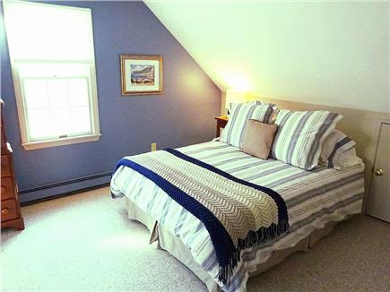 Brewster Cape Cod vacation rental - Queen bedroom with a/c unit on second floor