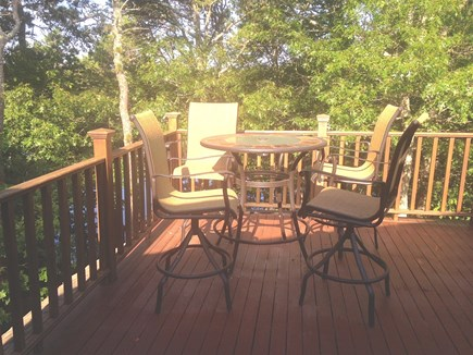 Eastham Cape Cod vacation rental - Upstairs Deck