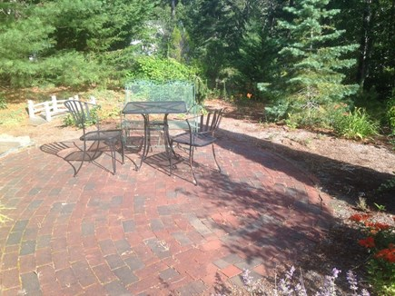 Eastham Cape Cod vacation rental - Nice brick patio near entrance