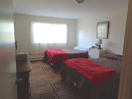Wellfleet Cape Cod vacation rental - Bottom level bedroom with 2 full size beds
