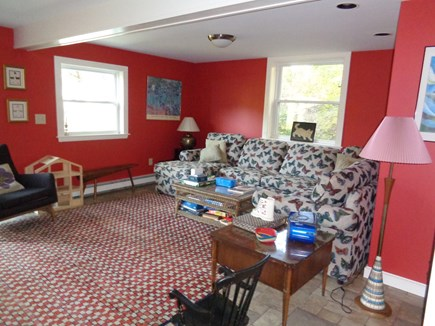 Wellfleet Cape Cod vacation rental - Bottom level play room