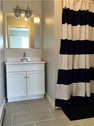 Dennisport Cape Cod vacation rental - Kids bathroom mid-reno