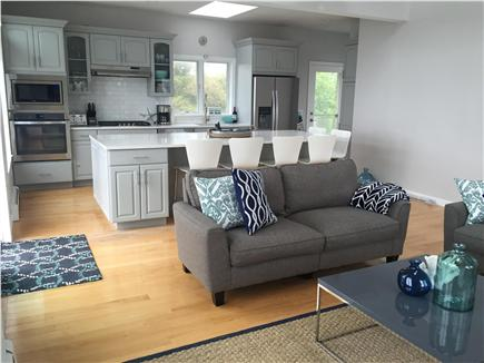 Dennisport Cape Cod vacation rental - Living room/kitchen