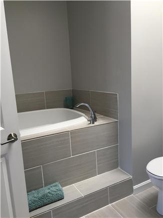 Dennisport Cape Cod vacation rental - Master bath whirlpool tub