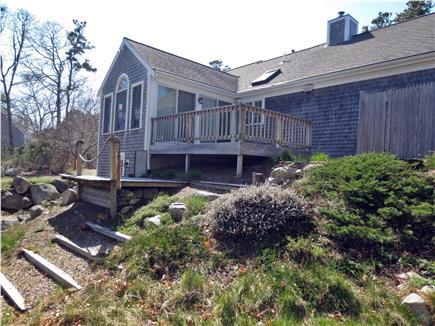Brewster, MA Cape Cod vacation rental - Back of House