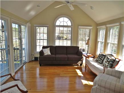 Brewster, MA Cape Cod vacation rental - Living Room from Dining