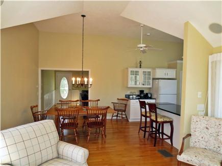 Brewster, MA Cape Cod vacation rental - Dining from Living Room