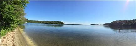 Brewster Cape Cod vacation rental - Access to private beach on Long Pond.