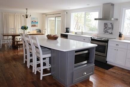 Brewster Cape Cod vacation rental - Open floor plan kitchen