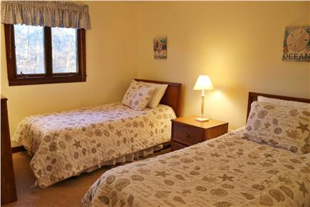 Brewster Cape Cod vacation rental - Sea Shell room with two twin beds