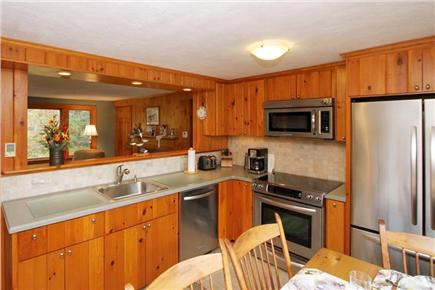 East Orleans Cape Cod vacation rental - Kitchen area (alternate view)