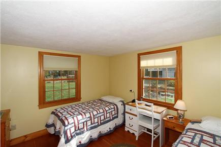 East Orleans Cape Cod vacation rental - Guest Bedroom with two twin beds