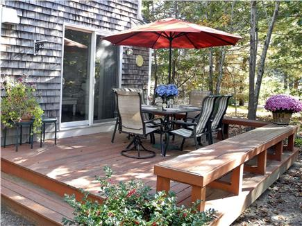 Eastham Cape Cod vacation rental - Spacious, private back yard