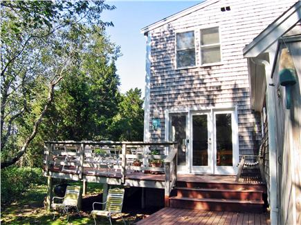 East Orleans, MA Cape Cod vacation rental - Back of home with deck