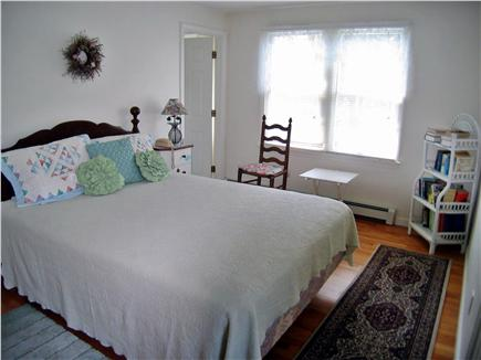 East Orleans, MA Cape Cod vacation rental - Upstairs Master Bedroom with queen bed and bath