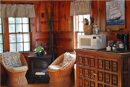 Dennis Cape Cod vacation rental - Additional Sitting Area In Living Room.