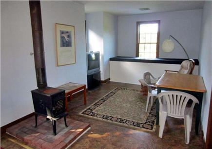 East Orleans Cape Cod vacation rental - Living area; in-law apartment over garage
