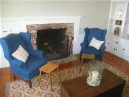 Harwich Cape Cod vacation rental - Living Room/Fireplace