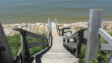 Eastham Cape Cod vacation rental - Stairway to beach