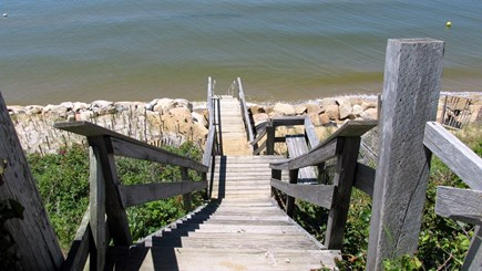 Eastham Cape Cod vacation rental - Stairs to Beach