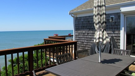 Eastham Cape Cod vacation rental - Dining Area to View