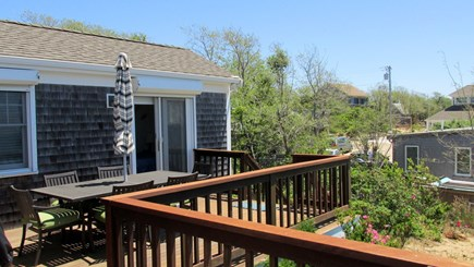Eastham Cape Cod vacation rental - Deck with Dining Area