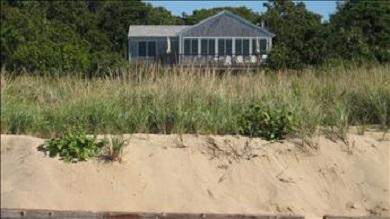 Eastham Cape Cod vacation rental - View of home from the Beach