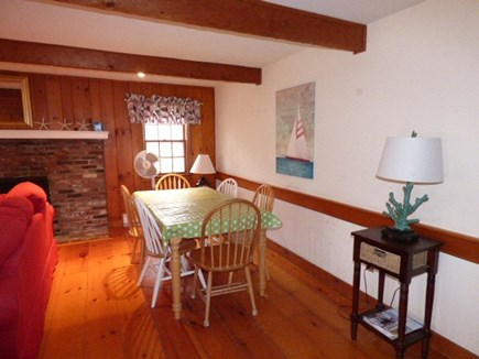 Dennis Cape Cod vacation rental - Dining area in Living room