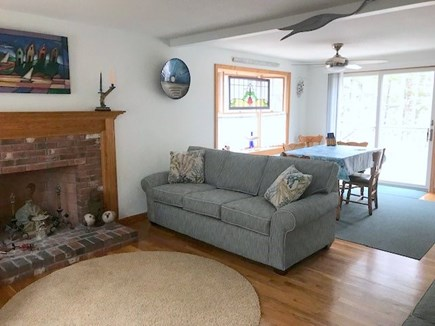 Eastham Cape Cod vacation rental - Living Room to Dining