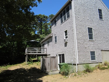Eastham Cape Cod vacation rental - Back Deck and Enclosed Outside Shower