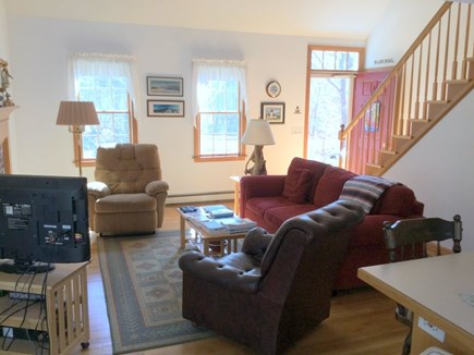 Eastham Cape Cod vacation rental - Light & Bright Living Room