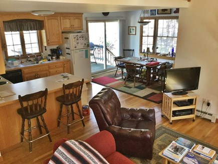 Eastham Cape Cod vacation rental - Open Kitchen - Dining - Living Room
