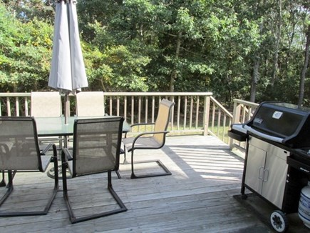 Eastham Cape Cod vacation rental - Back patio