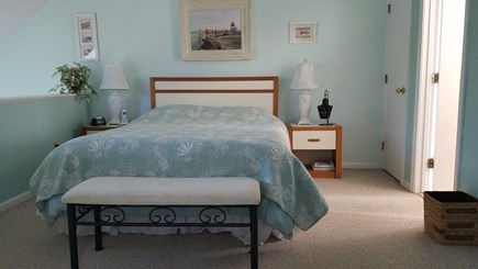 Brewster Cape Cod vacation rental - Master Bedroom with full bath