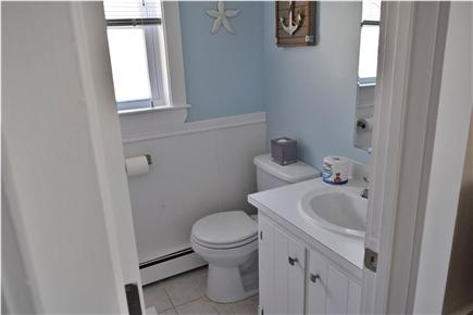 Barnstable, Coast of Hyannis Cape Cod vacation rental - Clean Bathroom with a shower and Tub.
