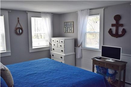 Barnstable, Coast of Hyannis Cape Cod vacation rental - Master Bedroom with bureau and TV