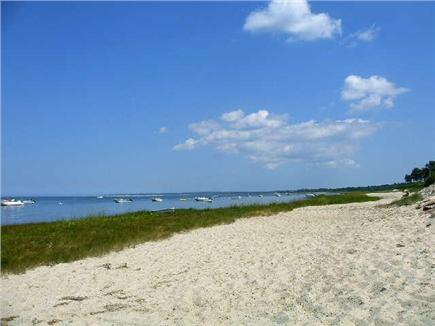 Barnstable Cape Cod vacation rental - White sandy private beach just a short walk away