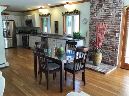 Barnstable Cape Cod vacation rental - Kitchen and dining area