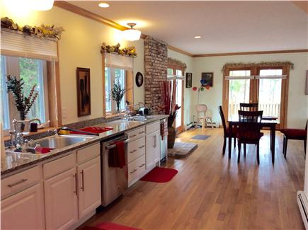 Barnstable Cape Cod vacation rental - Modern Kitchen with granite counter tops