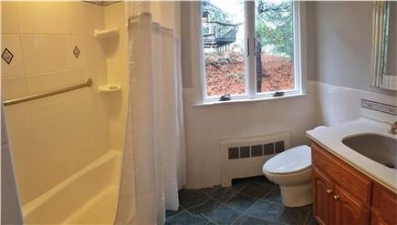 Pleasant Lake Harwich Cape Cod vacation rental - NEW full bathroom #3 with tub