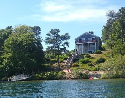 Pleasant Lake Harwich Cape Cod vacation rental - A Cape Cod private oasis on the most gorgeous lake