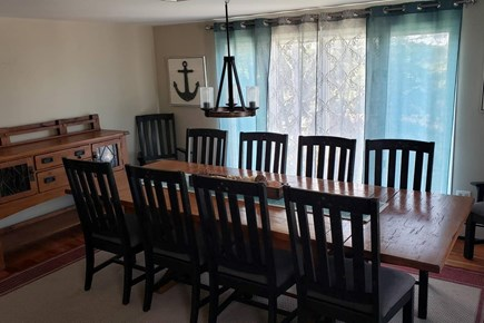 Pleasant Lake Harwich Cape Cod vacation rental - Dining Room off kitchen with water views and sunsets to the west