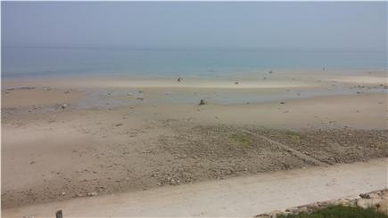 Dennis Cape Cod vacation rental - Private Association Beach (low tide)