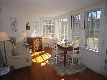 Eastham Cape Cod vacation rental - Sunroom living area