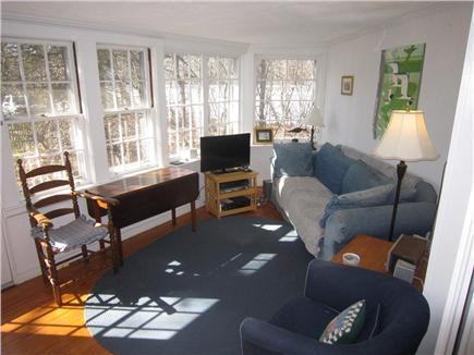 Eastham Cape Cod vacation rental - Sunroom (alternate view)