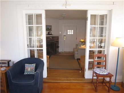 Eastham Cape Cod vacation rental - Exquisite french doors leading from sunroom to living space