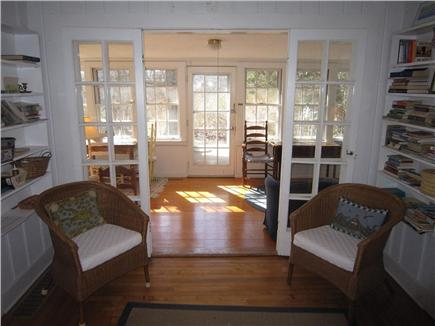 Eastham Cape Cod vacation rental - French doors leading to sun room