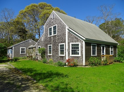 Eastham Cape Cod vacation rental - View of the main house with cottage to left